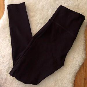 Pants - Size Small Dark Burgundy Workout Leggings